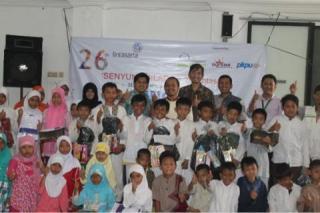 Launching program Beasiswa Akselerasi Pintar (Be A STAR) dan Gerobak Mapan di Majelis Ta'lim Cahaya Qolbu,  Kuningan Barat Jakarta Selatan, kamis (10/4) - PKPU