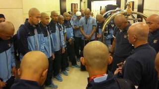Penampilan Timnas U-19 usai melaksanakan ibadah umrah - (Foto: tribunnews.com)