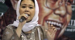 Putri Presiden RI ke-4, Abdurrahman Wahid alias Gus Dur, Yenny Wahid. (lensaindonesia.com)