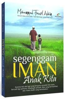 """Cover buku """"Segenggam Iman Anak Kita""""."""