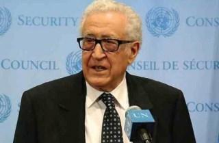 Mantan utusan khusus PBB untuk Suriah, Al-Ahdhar Al-Ibrahimi (rassd)