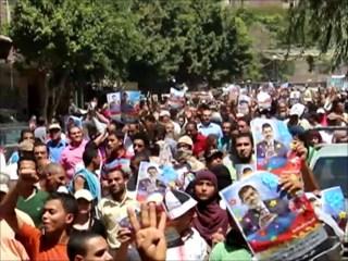 Aksi unjuk rasa menentang kudeta terus berlanjut di Mesir (aljazeera.net)