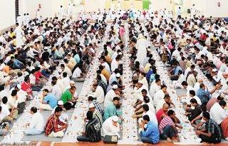 Suasana buka puasa bersama di Riyadh (alriyadh.com)