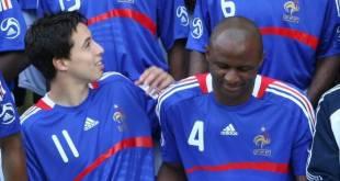 Patrick Vieira dan Samir Nasri (medias.lequipe.fr)
