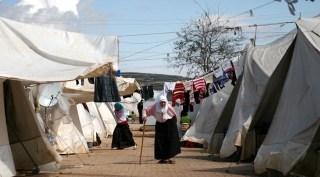 Pengungsian Suriah di Orfa, Turki (akhbaralaalam.net)