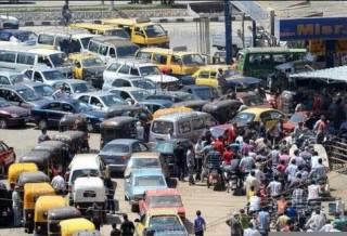 Kemacetan di salah satu ruas jalan di Mesir (islammemo.cc)