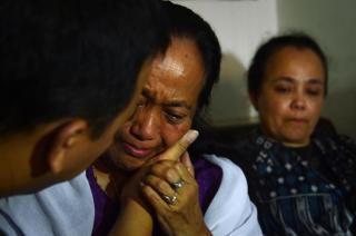 Yuriah Tanzil (64 tahun), kakak Ninik Yuliani (57) salah satu korban pesawat Malaysia Airlines MH17 . (nydailynews.com)