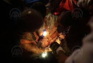 Anak-anak Palestina korban serangan brutal Israel (paltimes.net)