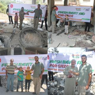 Bantuan ACT untuk Warga Gaza.  (lingga/ACT)