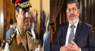 As-Sisi dan Presiden Mursi (islammemo.cc)