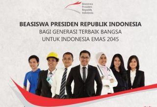 Pendaftaran Beasiswa Presiden di buka hingga 17  Agustus 2014.  (dnaberita.com)