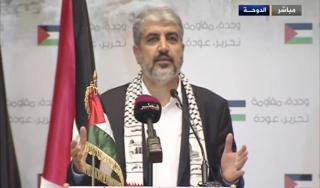 Kepala Biro Politik Hamas, Khalid Misy'al (aljazeera.net)