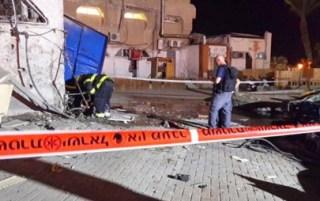 Kerusakan di Israel akibat serangan roket pejuang Palestina (paltimes.net)