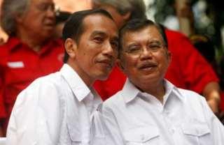 Joko Widodo dan Jusuf Kalla.  (kanalsatu.com)