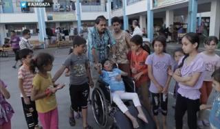 Kejahatan perang Israel juga menyasar warga sipil yang cacat (aljazeera.net)