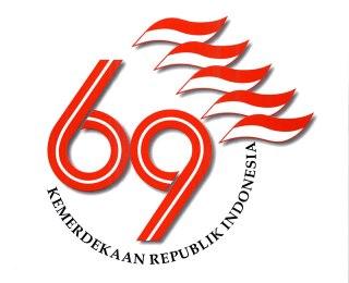 Logo HUT ke-69 kemerdekaan Republik Indonesia (RI). (setkab.go.id)