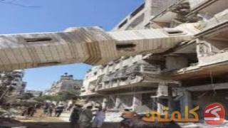 Menara masjid roboh di Gaza (klmty)