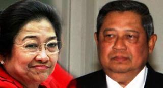 Megawati dan SBY. Ilustrasi (jurnal3)