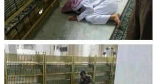 Foto lelaki yang diberitakan meninggal di Masjid Nabawi Senin (27/10/2014). (islammemo)