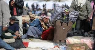 Pekerja Mesir yang terlantar di Libya karena kondisi tidak menentu (islammemo.cc)
