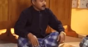 Ahmad sedang memberikan kajian tentang Isa Almasih kepada teman-temannya. (youtube)