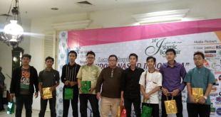 Pemenang Idola Nasyid Indonesia 2015 di Tangerang City, Sabtu (1/3/2015) (IST)