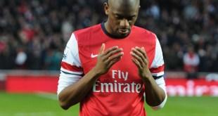 Gelandang Arsenal asal Prancis, Abou Diaby.  (redlondon.net)