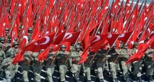 Parade militer tentara Turki. (safa.ps)