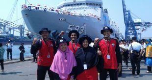 Relawan RZ yang tergabung dalam tim ekspedisi Bhakti Kesra Nusantara Sail Tomini 2015.  (Rena/rz)