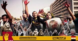 Pembantaian Rabiah Mesir oleh rezim kudeta. (egyptwindow.net)