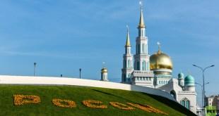 Masjid Agung Moscow (arabic.rt.com)