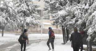Badai salju menerjang Libanon. (aljazeera)