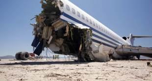 Pesawat Rusia yang jatuh di Sinai Mesir (islammemo.cc)