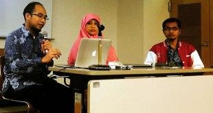 Dr. Eng. Khoirul Anwar dan Sri Yayu Indriyani R saat di Shizuoka, Jepang. (instagram.com/nocky25)