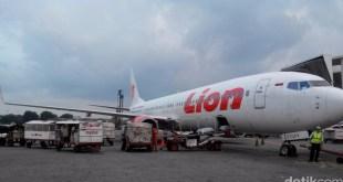 Pesawat Lion Air (Foto: Edward Febriyatri Kusuma/detikcom)