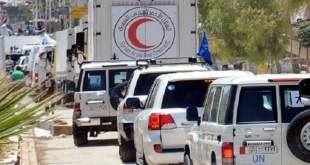 Konvoi bantuan kemanusiaan menembus Aleppo. (islamtoday.net)