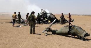 Helikopter Rusia jatuh di Suriah. (liputan6.com)
