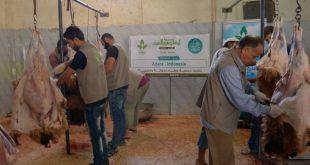 Bantuan Kemanusiaan Adara Relief untuk rakyat Aleppo Suriah. (IST)