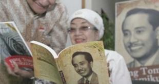 Sulistina Sutomo berpesan agar rakyat Indonesia jangan sampai mengkhianati Merah Putih. (republika.co.id)