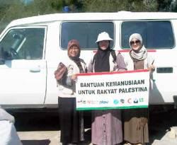 Rombongan delegasi Indonesia membawa bantuan kemanusiaan untuk rakyat Palestina (knrp)