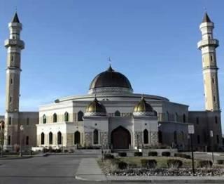 Ilustrasi - Sebuah Islamic Center di Dearborn, Michigan, Amerika (Reuters)