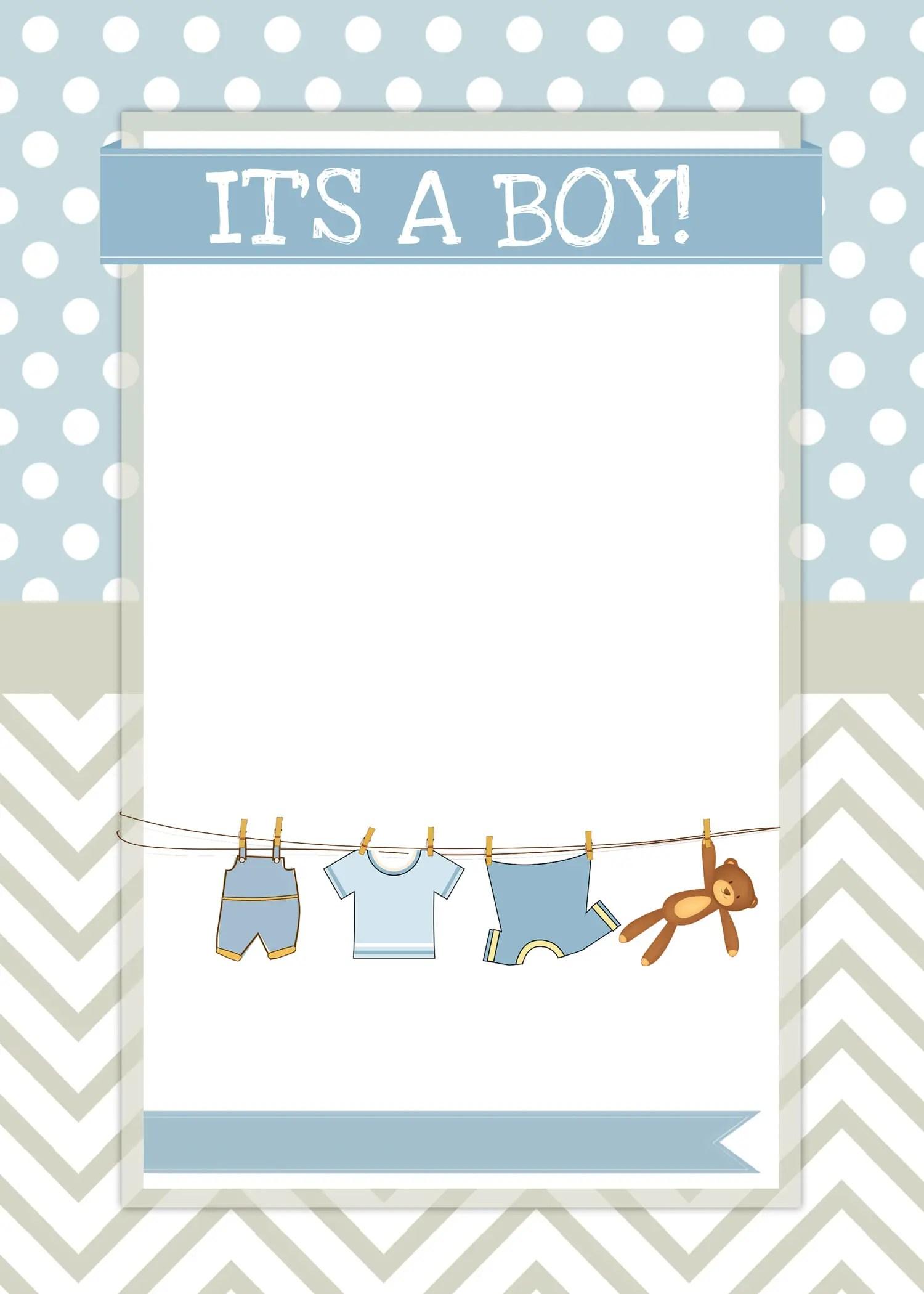 Tarjetas De Invitacion Para Baby Shower Tipo Postal 14x9 1452 Pictures