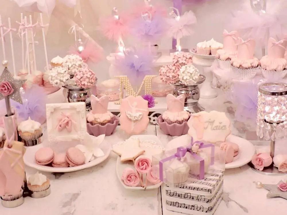 Ideas para fiesta de bailarina - Ideas decoracion cumpleanos nina ...