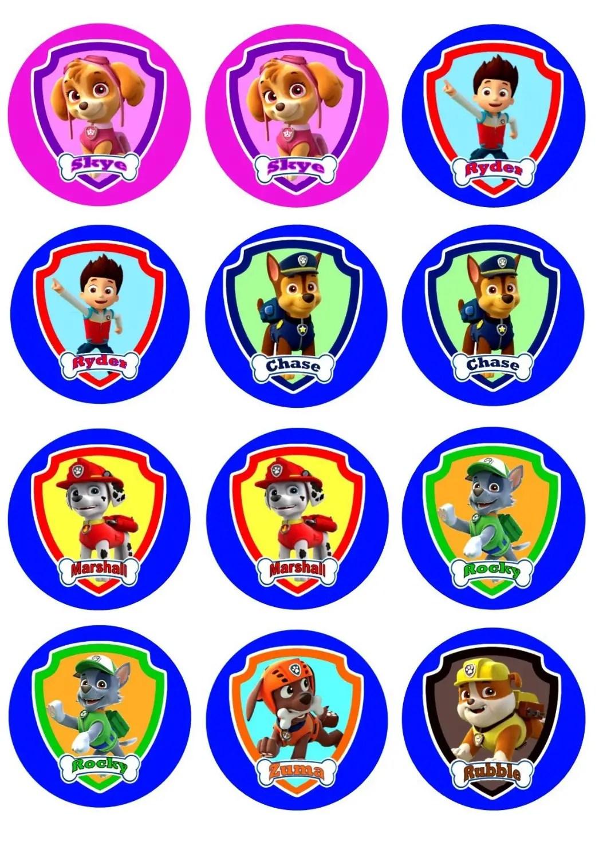 Imprimibles Paw Patrol gratis