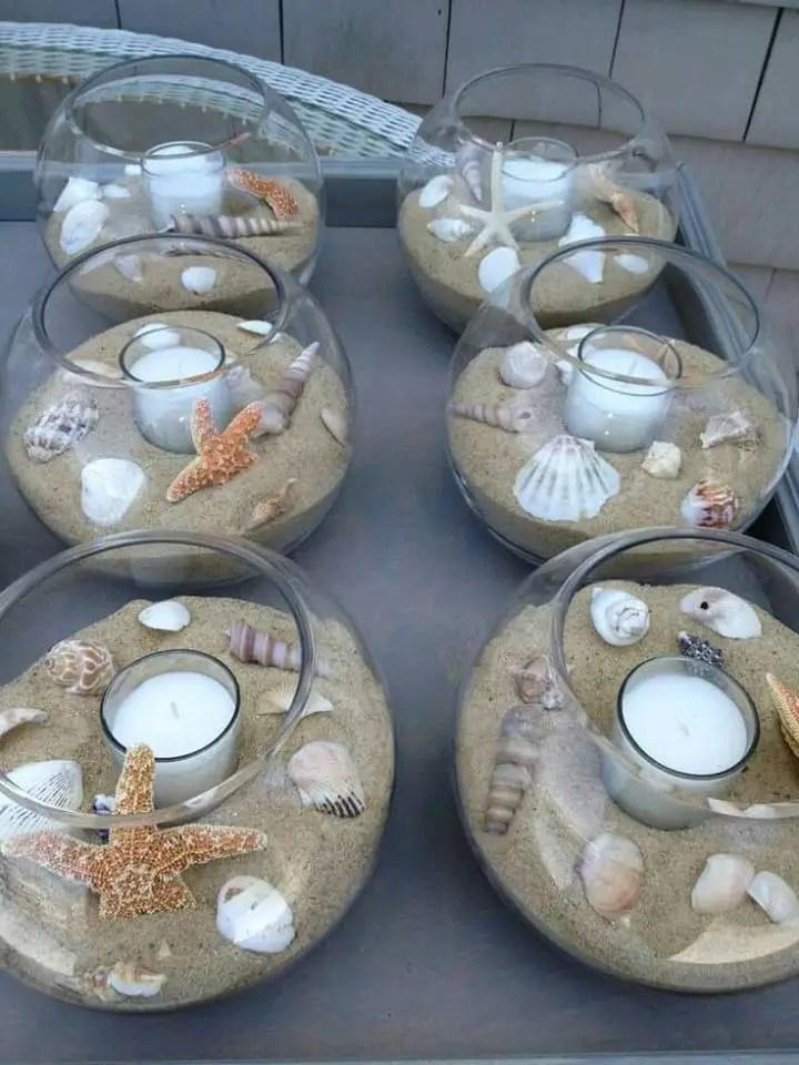 Centros de mesa con peceras - Centros para mesa ...