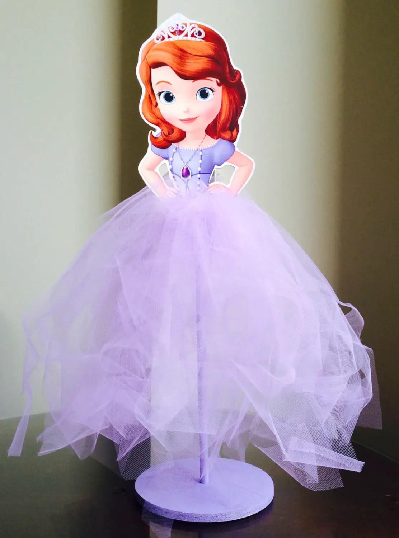 Centros de mesa de princesas con vestidos de tul - Centros para mesa ...