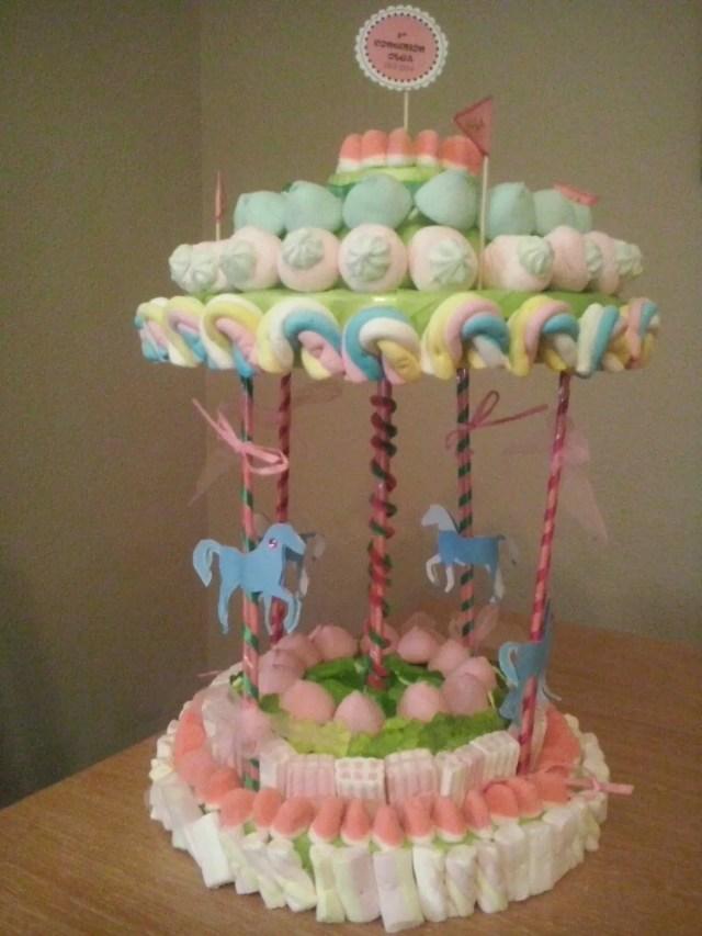 Carrusel con dulces - Ideas para decorar mesas de chuches ...