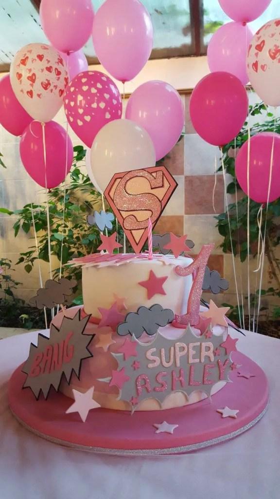 Supergirl linda fiesta para super ni as - Ideas cumpleanos nina 7 anos ...