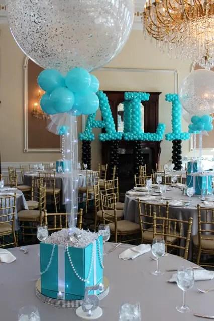 Incre bles centros de mesa con globos - Centros de mesa con globos ...