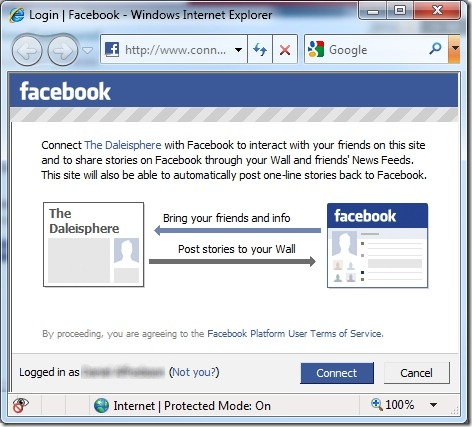 Why and How to Integrate Facebook Connect with Disqus \u2013 Daleisphere